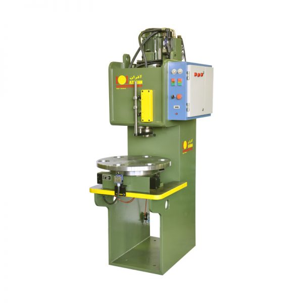 TRIMING-PRESS-WITH-PNEUMITIC-INDEXING-TABLE